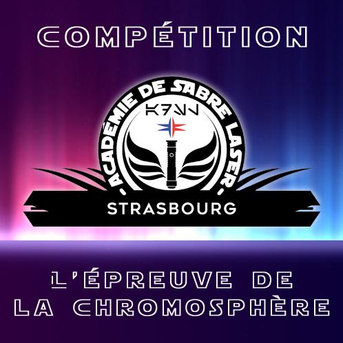 Académie de la Force Compétition Épreuve de la Chromosphère à Strasbourg